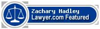 Zachary T. Hadley  Lawyer Badge