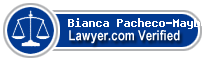 Bianca Pacheco-Mayberry  Lawyer Badge