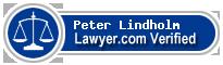 Peter E Lindholm  Lawyer Badge
