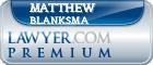 Matthew James Blanksma  Lawyer Badge