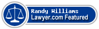 Randy Williams  Lawyer Badge