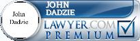 John Dadzie  Lawyer Badge
