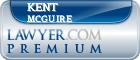 Kent McGuire  Lawyer Badge