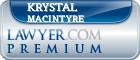 Krystal J. MacIntyre  Lawyer Badge