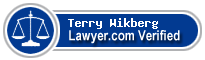Terry Jay Wikberg  Lawyer Badge