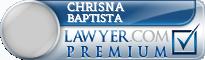 Chrisna Tan Baptista  Lawyer Badge