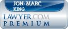 Jon-Marc King  Lawyer Badge