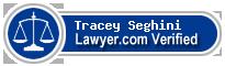 Tracey Brown Seghini  Lawyer Badge