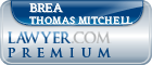 Brea Marie Thomas Mitchell  Lawyer Badge