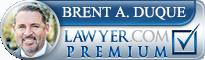 Brent Andrew Duque  Lawyer Badge