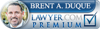 Brent Andrew Duque  Lawyer Badge