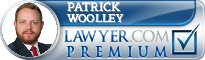 Patrick Woolley  Lawyer Badge