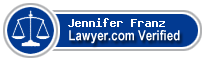 Jennifer Sue Franz  Lawyer Badge