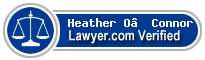 Heather O'Connor  Lawyer Badge