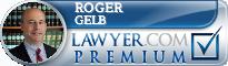 Roger K. Gelb  Lawyer Badge