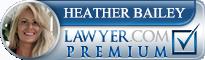 Heather S. Bailey  Lawyer Badge