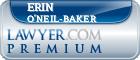 Erin O'Neil-Baker  Lawyer Badge