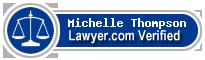 Michelle Thompson  Lawyer Badge