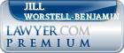 Jill Marie Worstell-Benjamin  Lawyer Badge