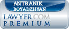 Antranik Andy Boyadzhyan  Lawyer Badge