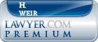 H. Patrick Weir  Lawyer Badge
