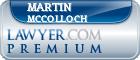 Martin S. McColloch  Lawyer Badge