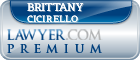 Brittany Cicirello  Lawyer Badge