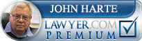 John W. Harte  Lawyer Badge