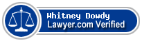 Whitney Meriwether Dowdy  Lawyer Badge