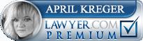 April Kreger  Lawyer Badge