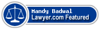 Mandy Badwal  Lawyer Badge