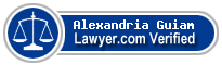 Alexandria Caitlein Guiam  Lawyer Badge
