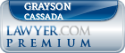 Grayson Brooks Cassada  Lawyer Badge