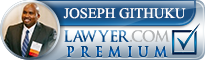 Joseph Githuku  Lawyer Badge