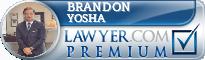 Brandon Abraham Yosha  Lawyer Badge