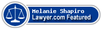 Melanie Shapiro  Lawyer Badge
