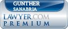 Gunther Omar Sanabria  Lawyer Badge