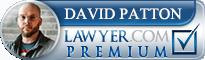 David Patton  Lawyer Badge