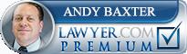 J. Andrew Baxter  Lawyer Badge