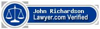 John A Richardson  Lawyer Badge
