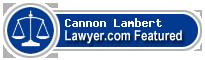 Cannon Lambert  Lawyer Badge