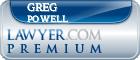 Greg Powell  Lawyer Badge