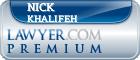 Nick Khalifeh  Lawyer Badge