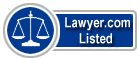 Allan Hanson Lawyer Badge